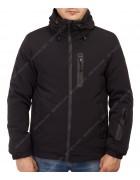 5582 черн. Куртка мужская S-2XL  по 5