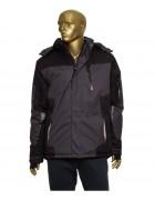 388 серый+ черн Куртка мужск M-3XL по 6