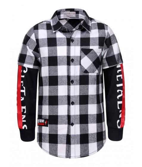 BCS-8465 Рубашка мальчик 110-160 12/48