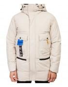 911 беж. Куртка мужская L-4XL по 5