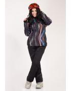 2331 цветная Куртка женская S-XL по 4