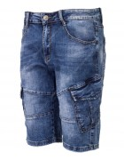 2613 Бриджи джинс. мужские 30-38 по 12