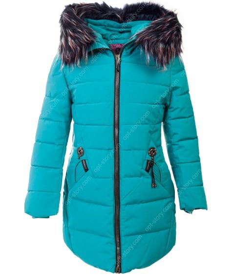 HM-971 бирюза Куртка девочка 128-152 по 5