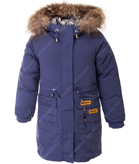 HL-616 син. Куртка девочка 140-164 по 5
