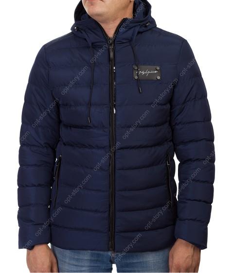 1398 син. Куртка мужская M-3XL по 6