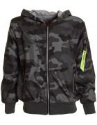 K821 черн.Куртка весна мальчик 8-16  по 5