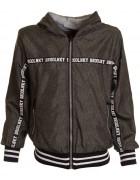 K822 черн.Куртка весна мальчик 8-16  по 5