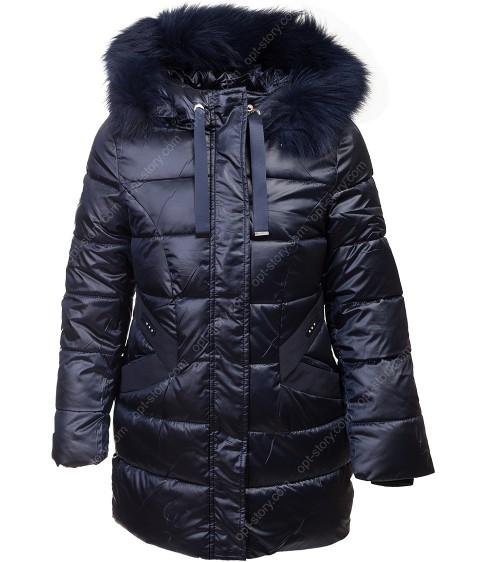 HL-621 т.син Куртка девочка  140-164 по 5