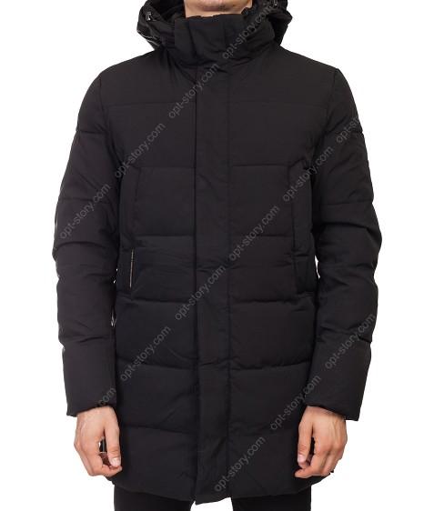 T-328/32604 черн. Куртка мужская  48-56 по 5