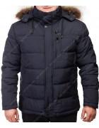 GF9132/32557/20 черн-син Куртка мужская 60-70 по 6