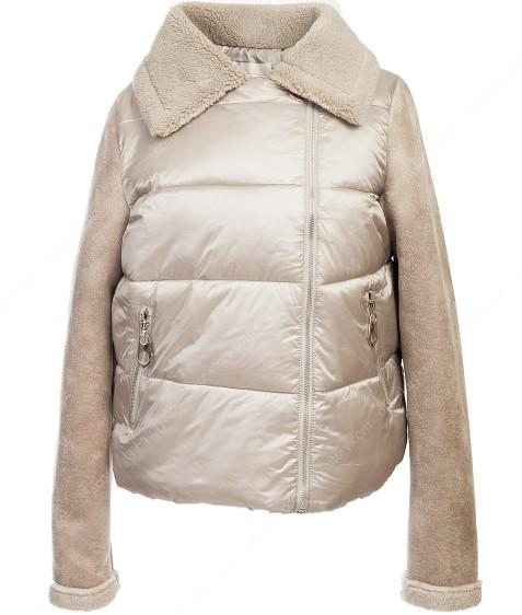 6122 беж. Куртка женская(еврозима) 36-40 по 3