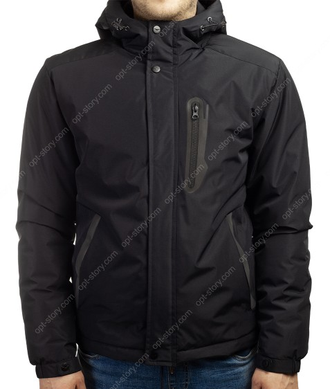21016-1 черный Куртка муж 46-54 по 5