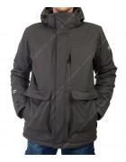 32164 серый Куртка мужская
