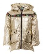 18007 золото Куртка девочка 104-134 по 6