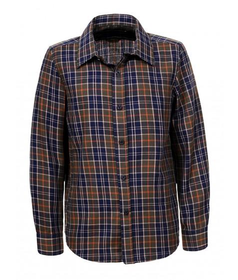 BCS-8490 хаки Рубашка мальчик 110-160 по 6