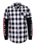 MCS-8467 белый Рубашка мужская S-XL по 4