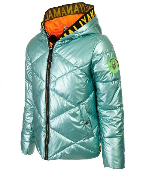 222 зел Куртка девочка 140-164 по 5