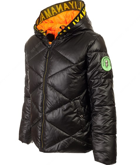 222 черн Куртка девочка 140-164 по 5