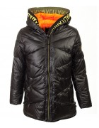 224 черн Куртка девочка 140-164 по 5
