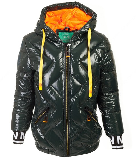 228 зел Куртка девочка 128-152 по 5