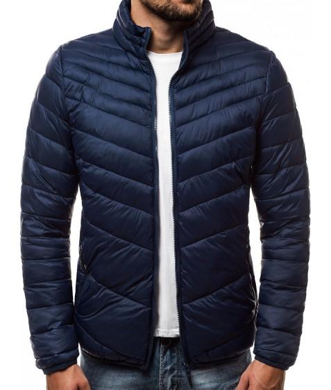 LY-11 т.син Куртка мужская M-2XL по 4