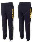 WX-2155 желтый Спорт штаны маль 4-12 по 5
