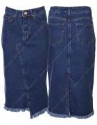 1331 Юбка джинс женская 34-40 по 5