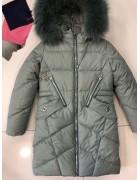 YS-1978 зел. Куртка девочка  116-140 по 5