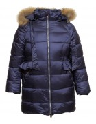 718 тем.синий Куртка девочка 104-134 по 6