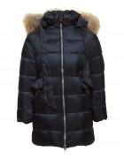 718 черн. Куртка девочка 104-134 по 6