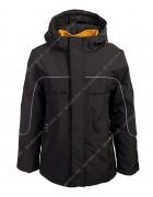 382# чёрн. Куртка мальчик 128-152 по 5