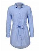 GCS-8031 Рубашка удлинённая девочка 122-164 48/8