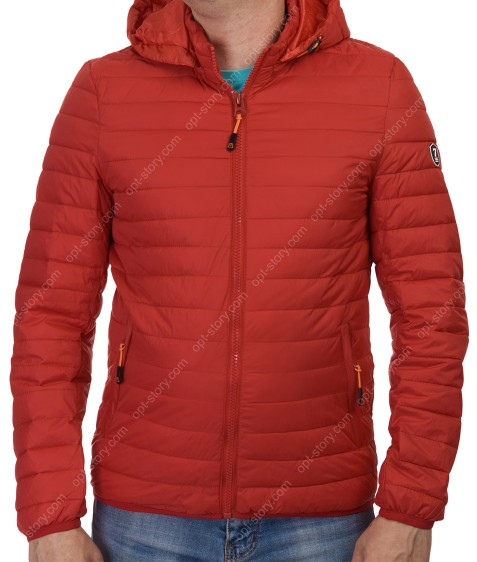 1291-53 красн. Куртка мужская M-3XL по 5