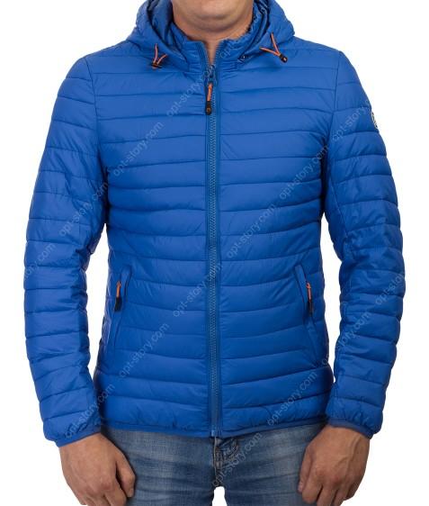 1291-13 син. Куртка мужская M-3XL по 5