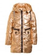 839 золото Куртка девочка  92-116 по 5