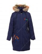 DX-8122 т.син.Куртка девочка 122-146 по 5