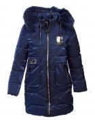 YS-7# син.Куртка девочка 128-152 по 5