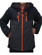 B3351 черн. Куртка мальчик 140-164 по 4