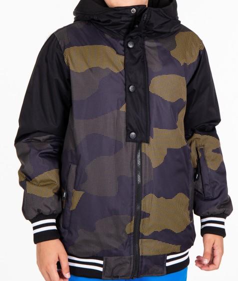 B3326 оранж. Куртка мальчик 134-164 по 4