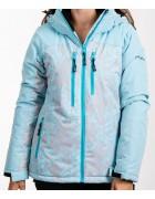 B2369 голуб. Куртка женская S-XL по 4