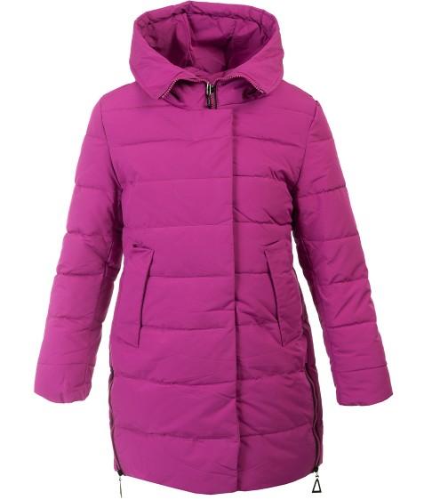 HM-1088 фиолет Пальто девочка 140-164 по 5