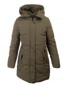 HM-972 хаки Куртка девочка 140-164 по 5