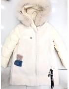 8983 крем Куртка дев.2-х сторон 122-146 по 5
