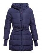 716 тем.синий Куртка девочка 134-158 по 5