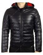 6794-2 черный Куртка муж M-2XL по 4