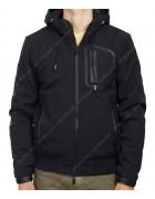 3203 син Куртка мужская S-2XL по 5