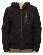 3203 чёрн Куртка мужская S-2XL по 5