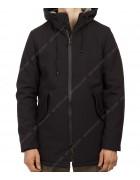 3708 чёрн Куртка мужская S-2XL по 5