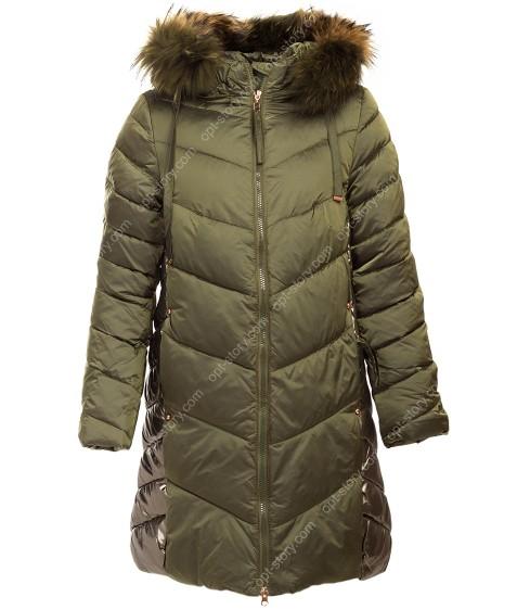 838 хаки Куртка девочка 134-158 по 5