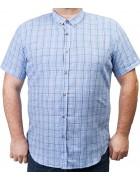 7963-12 Рубашка муж.(кор.рукав) 3XL-6XL по 4